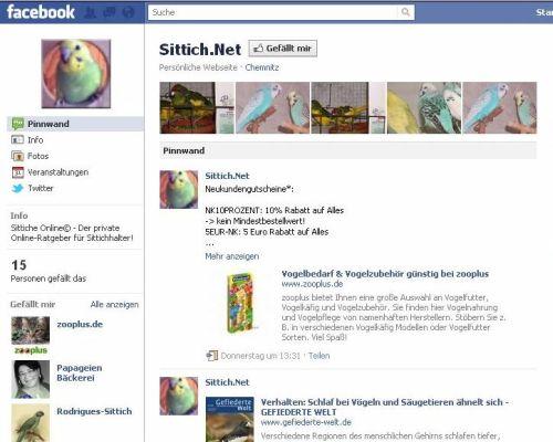 Sittich.Net - Facebook