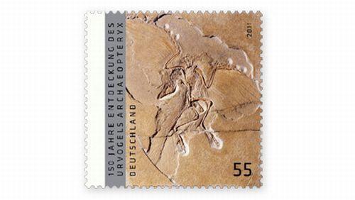 55ct Urvogelmarke