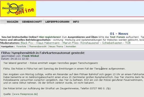 Drehscheibe Online